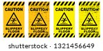 caution wet floor sign slippery ... | Shutterstock .eps vector #1321456649