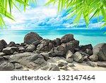 Beautiful Rock Beach And...