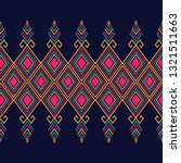 geometric ethnic pattern... | Shutterstock .eps vector #1321511663