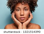 close up shot of black young... | Shutterstock . vector #1321514390