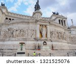 rome   italy   09 01 2018  boy...   Shutterstock . vector #1321525076