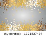 vector illustration of gold... | Shutterstock .eps vector #1321537439