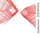 conceptual architecture 3d  | Shutterstock .eps vector #1321549316