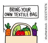 plastic bag pollution problems...   Shutterstock .eps vector #1321574576