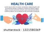 heart care  blood pressure... | Shutterstock .eps vector #1321580369