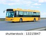 Public Transport   Yellow Bus ...