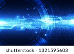 abstract security digital... | Shutterstock .eps vector #1321595603