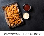 Curly Fries Fast Food Snack In...