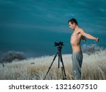 winter cold photographer | Shutterstock . vector #1321607510