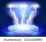 stage effects. heat lighting.... | Shutterstock .eps vector #1321620896