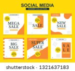 modern promotion square web... | Shutterstock .eps vector #1321637183