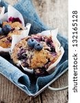 Homemade Blueberry Muffins In...