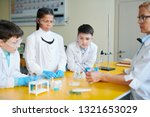 three young learners in... | Shutterstock . vector #1321653029