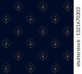 navy blue background ditzy... | Shutterstock .eps vector #1321670303