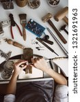 made with love. vertical photo... | Shutterstock . vector #1321691963