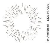 retro  bursting rays design... | Shutterstock .eps vector #1321697309