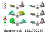 mathematical logic puzzle game... | Shutterstock .eps vector #1321702250