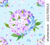 beautiful floral background... | Shutterstock .eps vector #1321705013
