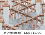 grand stone stairs leading to...   Shutterstock . vector #1321711700