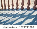 grand stone stairs leading to...   Shutterstock . vector #1321711703