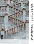 grand stone stairs leading to...   Shutterstock . vector #1321711706