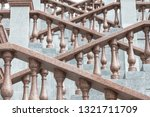 grand stone stairs leading to...   Shutterstock . vector #1321711709