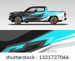 car decal wrap design vector....   Shutterstock .eps vector #1321727066