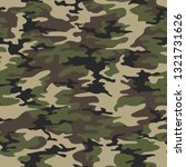 camouflage seamless pattern... | Shutterstock .eps vector #1321731626