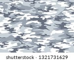 camouflage seamless pattern... | Shutterstock .eps vector #1321731629