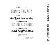 this is the day the lord has... | Shutterstock .eps vector #1321750463