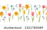 Watercolor Spring Horizontal...