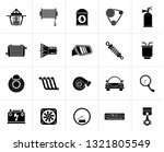 black car part and services... | Shutterstock .eps vector #1321805549