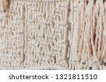 macrame decor displayed hanging ... | Shutterstock . vector #1321811510