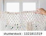 macrame decor displayed hanging ... | Shutterstock . vector #1321811519