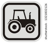 tractor  frame  vector icon at...   Shutterstock .eps vector #1321832126
