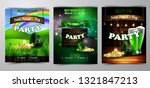 irish holiday saint patrick s... | Shutterstock .eps vector #1321847213
