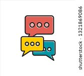 outline chat icon