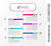 infographic design template....   Shutterstock .eps vector #1321883183