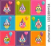 patchwork background with... | Shutterstock .eps vector #1321884416