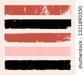 a set of distressed vector... | Shutterstock .eps vector #1321890350