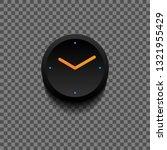 simple black clock for app... | Shutterstock .eps vector #1321955429