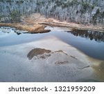 sand bars at low tide as seen... | Shutterstock . vector #1321959209