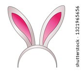 cute rabbit cartoon | Shutterstock .eps vector #1321965656