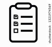 oval checklist icon   select...