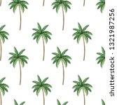 nature palms cartoon | Shutterstock .eps vector #1321987256