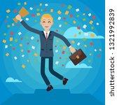 vector charactre cartoon... | Shutterstock .eps vector #1321992839