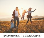 happy family  mother  father ... | Shutterstock . vector #1322000846