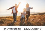 happy family  mother  father ...   Shutterstock . vector #1322000849