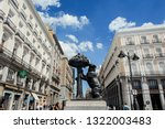 madrid  spain   september 2014. ... | Shutterstock . vector #1322003483
