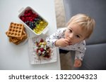 sweet toddler birthday boy ... | Shutterstock . vector #1322004323